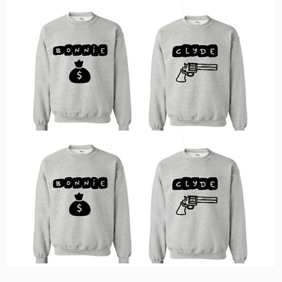 new product ab03d 6c4b8 His and Hers sweaters (Bonnie and Clyde). M 5bed511e0cb5aa3e3dc3e4e7.  M 5bed511e0cb5aa3e3dc3e4e7
